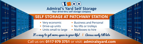 Admiral's Yard Self Storage, Little Stoke, Bristol.