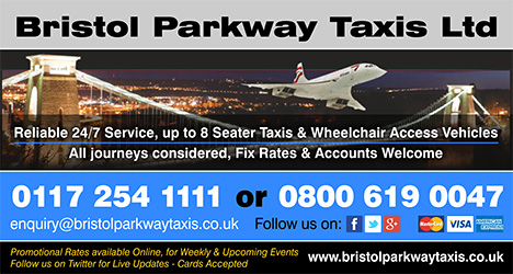 Bristol Parkway Taxis - serving Patchway