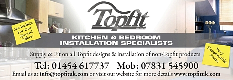 Topfit kitchen and bathroom installation specialists. Patchway, Bristol