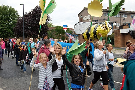 Patchway Festival Parade 2011
