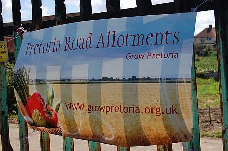 Pretoria Road allotments, Patchway, Bristol