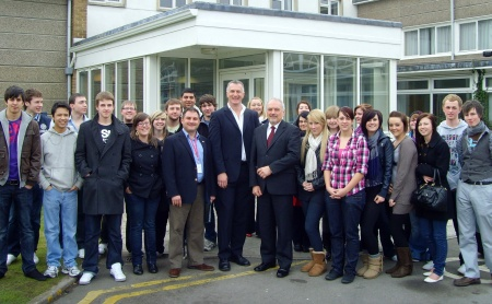 Politics Day (12th Feb 2010) at Patchway Community College