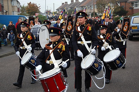 Patchway Remembrance Parade and Service 2011