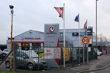 Drive Vauxhall garage and showroom, Patchway, Bristol