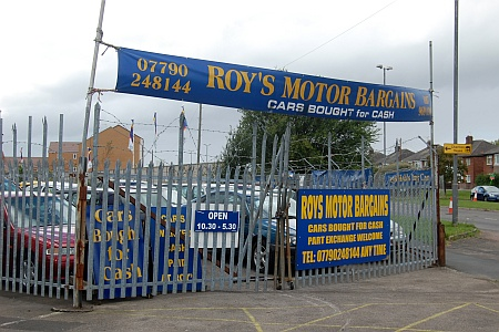 Roy's Motor Bargains, Patchway, Bristol