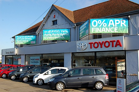 Toyota World. Gloucester Road, Patchway, Bristol