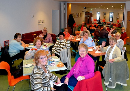 Over 60s tea party at Conistion Community Centre, Patchway