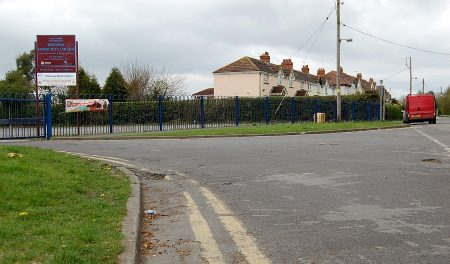 Parking restrictions in Hempton Lane, Patchway, Bristol