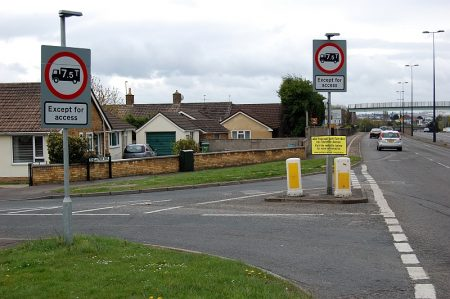 Junction of Shellmor Avenue with the A38 Gloucester Road,Patchway.