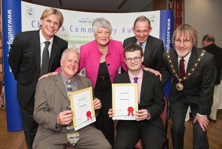 Two special winners of the 2012 South Glos Community Awards