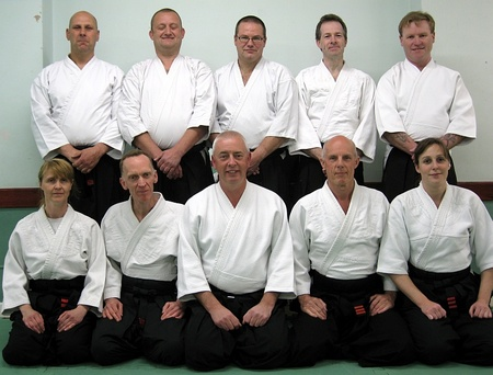 Members of Patchway Ki Aikido Club.