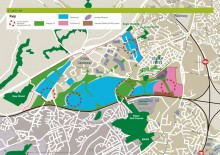 Land use plan for the Cribbs/Patchway New Neighbourhood (January 2014).
