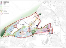 Cribbs/Patchway New Neighbourhood Framework Diagram (November 2012).