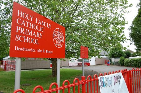 Holy Family RC Primary School, Stoke Lodge, Patchway, Bristol.