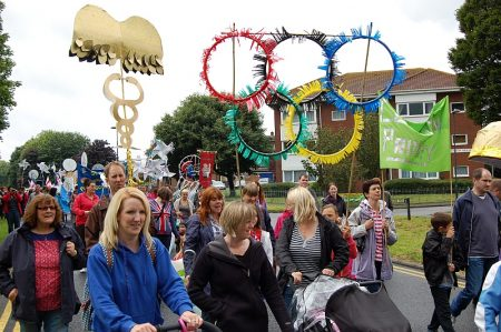 Patchway Festival 2012 - parade from Consiton Parade to Scott Park.
