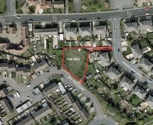 Proposed housing development in Bay Tree Close, Patchway.
