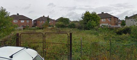 Vacant land at Bay Tree Close, Patchway, Bristol.