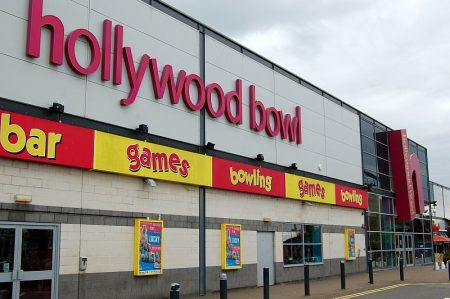 Hollywood Bowl at The Venue, Cribbs Causeway, Bristol.