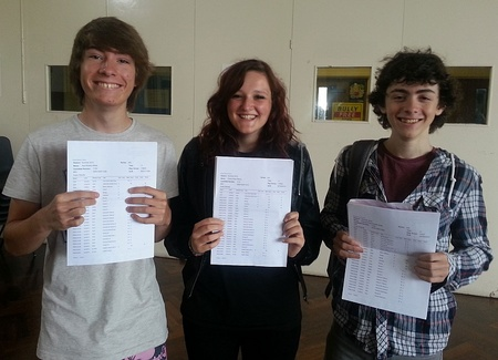 Top GCSE performers at Patchway Community College.