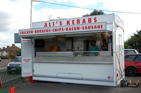 Ali's Kebabs at the junction of Callicroft Road and Highwood Road.