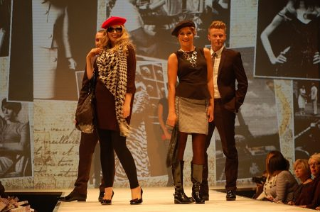 Fashion show at the Autumn 2012 Bristol Fashion Week.