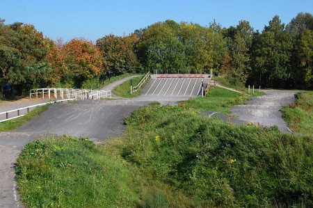 Bristol BMX Club's track at The Tumps, Waterside Drive, Patchway, Bristol.