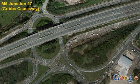 M5 Junction 17 (Cribbs Causeway).