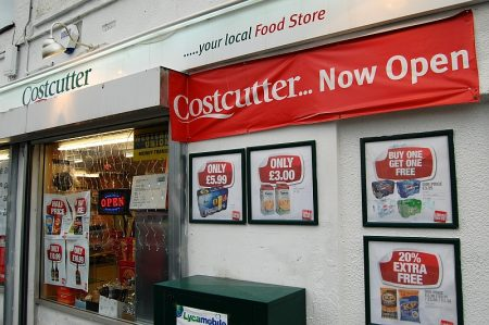 Costcutter store, Patchway Roundabout, Coniston Road, Patchway, Bristol.