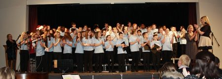 2012 Christmas concert at Patchway Community College, Bristol.