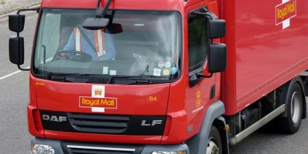 Royal Mail lorry. [Photo credit: didbygraham on Flickr; licence: CC BY 2.0]