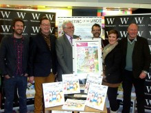 """Gathering of the Winds"" book launch at Waterstones, Cribbs Causeway."