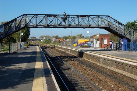 Patchway Railway Station, Bristol.