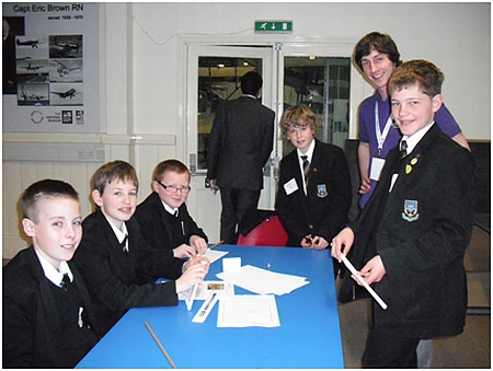Control Tower Build activity at the Grand Final of the Flying Start Challenge.