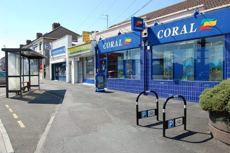 Shops in Rodway Road, Patchway.