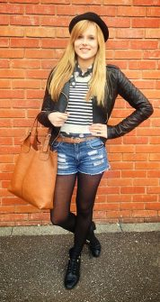 Ria Matthews, fashion blogger for Talbot Green Shopping Park.