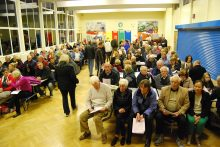 SGC meeting to discuss closure of Highwood Road, Patchway. Overflow hall.