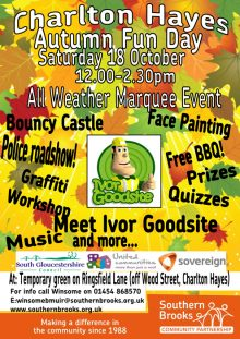 Charlton Hayes Autumn Fun Day on Saturday 18th October 2014.