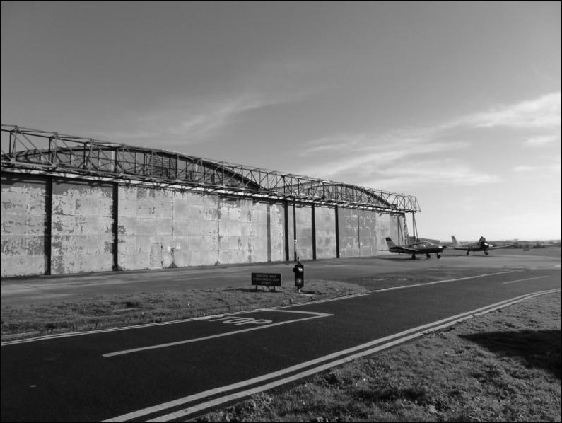 Filton Airfield's hangar 16S, where the main heritage exhibition of the proposed Bristol Aero Museum will be located.