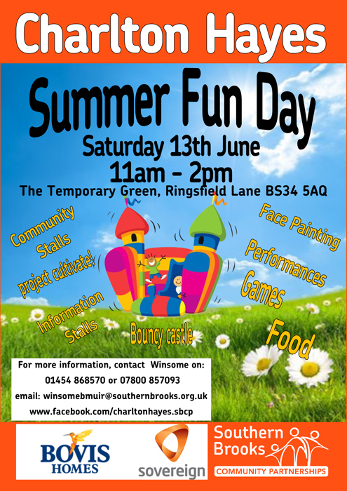 Charlton Hayes Summer Fun Day on Saturday 13th June 2015.
