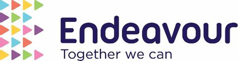 Logo of the Endeavour Academy Trust.