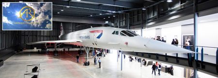 Concorde exhibit at Aerospace Bristol.