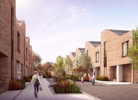 Visualisation of part of the proposed Brabazon development.