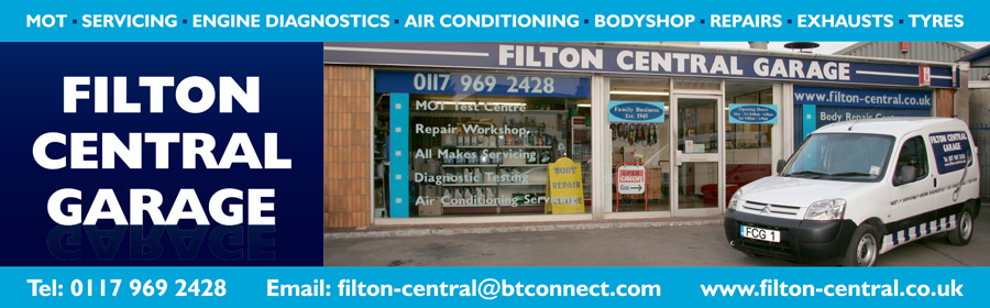 Filton Central Garage, Bristol.